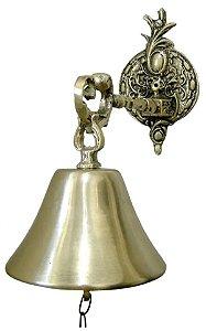 Sino De Parede Em Bronze Liso Presente Sitio Missas Igrejas
