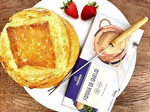 Fondue de Queijo Pomerode 400g + Pão Italiano 500g
