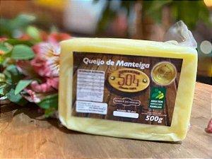 QUEIJO DE MANTEIGA 480G - QUEIJARIA 504 - OURO PREMIO QUEIJOS BRASIL