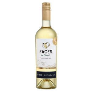 VINHO LIDIO CARRARO FACES DO BRASIL CHARDONNAY 750ML