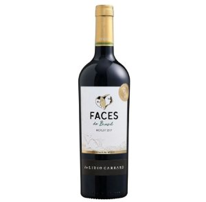 VINHO LIDIO CARRARO FACES DO BRASIL MERLOT 750 ML