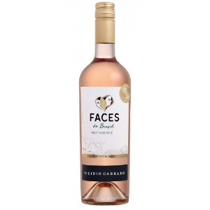 VINHO LIDIO CARRARO FACES DO BRASIL PINOT NOIR ROSE 750ML