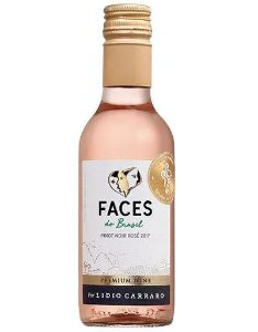 VINHO LIDIO CARRARO FACES DO BRASIL PINOT NOIR ROSÉ 2019 187,5ML