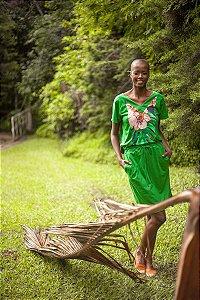 Vestido Sport Verde