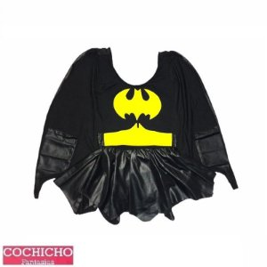 Fantasia Menina Morcego Colan Infantil