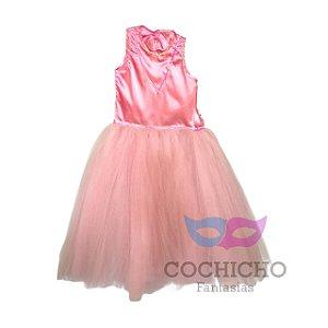 Fantasia Princesa Lara Infantil