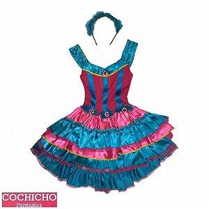Fantasia Dança Latina Infantil