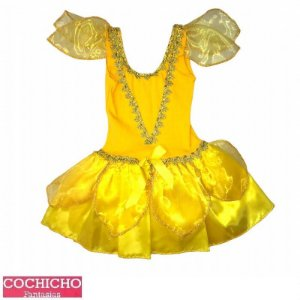 Fantasia Princesa Amarela Curta Infantil