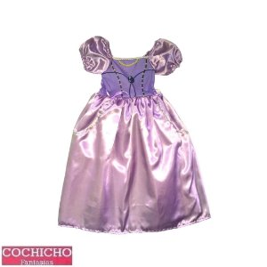 Fantasia Princesa Lilás Simples Infantil