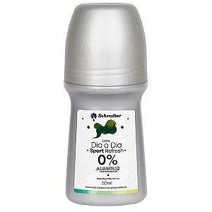 Desodorante Sport Refresh Dia a Dia - 0% Alumínio e Parabenos