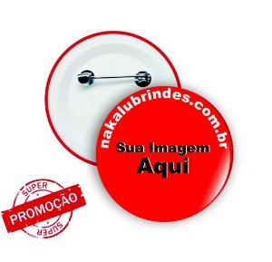 100 Botons Personalizados 5,5 cm