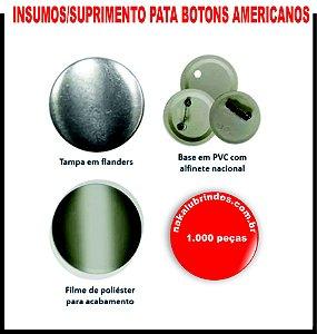 7.000 suprimentos para Boton Americano 4,5