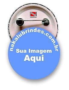 110 Botons Americano Personalizados 4,5 cm