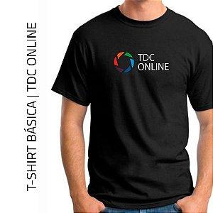 T-SHIRT PRETA BÁSICA | TDC ONLINE  P