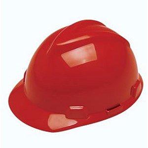 Casco Capacete Msa Vermelho CA 498