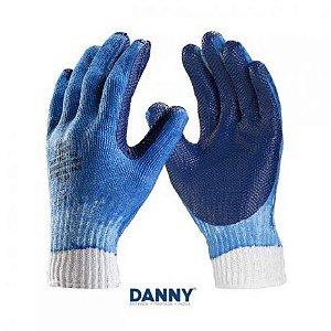 Luva de Segurança Gladiador Azul DA-36105 Danny Serviços Gerais