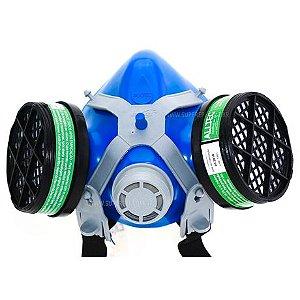 Máscara Alltec 2402 Com 2 Filtros Inclusos Vapor Orgânico