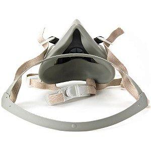 Respirador Semi Facial 3M Reutilizável Série 6000 CA 4115