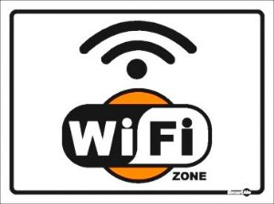 Placa Wi Fi Zone Ps633 20x15cm