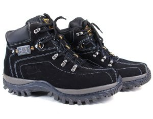 Botina Caterpillar Adventure Preto