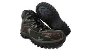 Coturno Caterpillar Adventure Camuflado