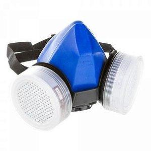 Respirador semi facial top air VI completo com cartucho CA12944