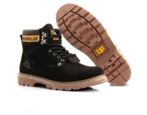 Coturno Caterpillar Brown Preto