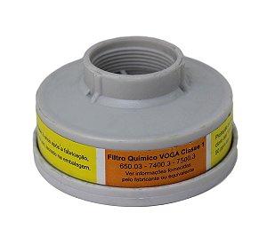 Filtro Para Respirador Semi Facial Plastcor Vo/Ga Par