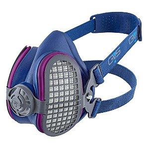 Respirador Semi Facial PFF3 GVS Elipse SPR501 M/G Filtro P3 CA 29416