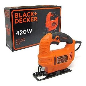Serra Tico Tico Black & Decker KS501-BR 420W 110V