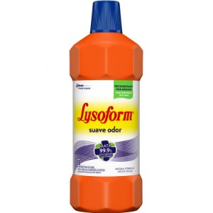 Lysoform Desinfetante Líquido Bactericida 1 Litro Suave Odor