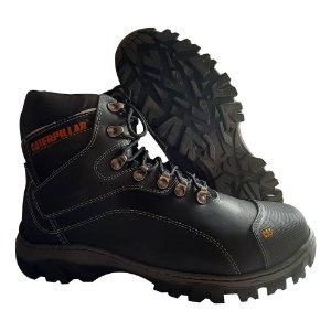 Botina Caterpillar Couro Adventure 9820 Preto