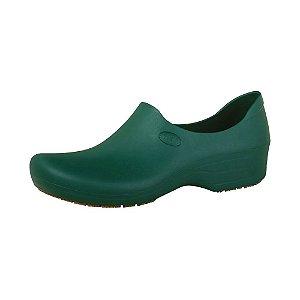 Sapato Hospitalar Antiderrapante Impermeável Sticky Shoe Verde Amazon