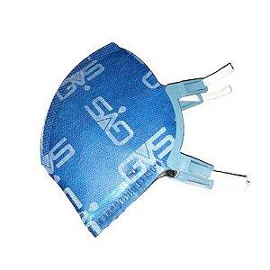 Kit 10 Respiradores PFF2 N95 Sem Válvula Aero2 GVS CA 38337