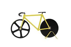 Cortador De Pizza Bike Bumblebee Amarelo