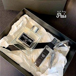 Kit Difusor e Perfume para carro Madeira Oriental