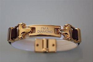 Pulseira Feminina - I'M A DIAMOND