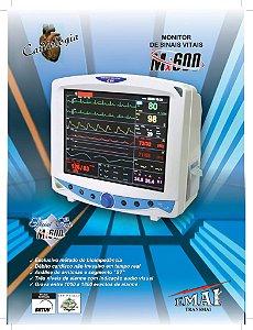 Monitor de Sinais Vitais MX-600 - EMAI