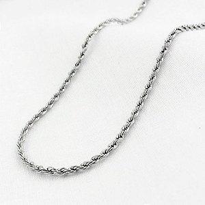 Corrente de Aço Corda de 1,5 mm com 50 cm