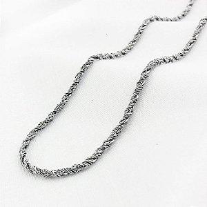 Corrente de Aço Trançada com 70 cm