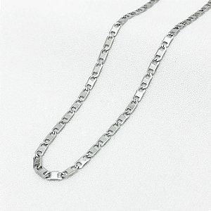Corrente de Aço Piastrine com 65 cm