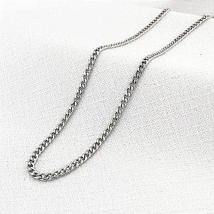 Corrente de Aço Groumet Achatada de 2,2 mm com 65 cm