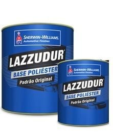 BASE POLIESTER LM401 PRETO (3,6L) LAZZUMIX