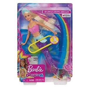 Boneca Barbie Sereia Articulada
