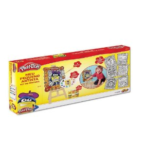 Brinquedo Infantil Educativo Kit De Artes E Pintura Play Doh