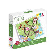 Brinquedo Educativo Primeira Infância Labirinto No Campo