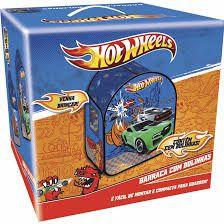 Barraca Infantil Hot Wheels C/ 50 bolinhas