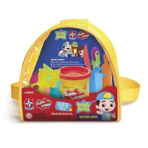 Brinquedo Infantil Super Massa Mochilinha Luccas Neto