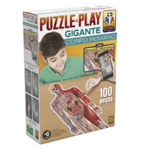 Pluzze Infantil Educativo Corpo Humano 100 Pçs C App