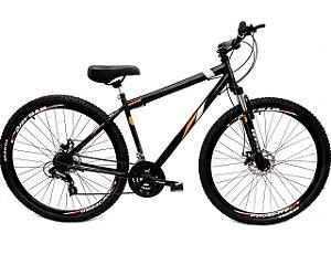 Bicicleta Aro 29 Mountain Bike Freio A Disco Gts Preta